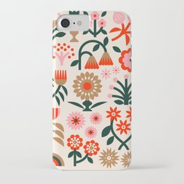 Winter Wrap: White iPhone Case