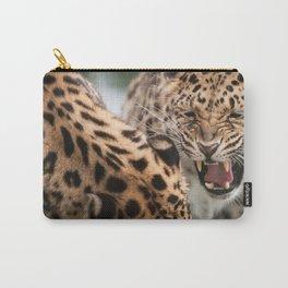 Amur Leopards Carry-All Pouch