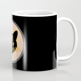 Bastes head, cat head, cat face, Egypt Coffee Mug