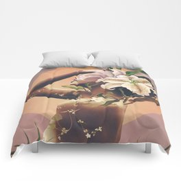 Floral beauty 3 Comforters