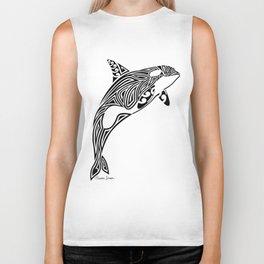 Tribal Orca Biker Tank