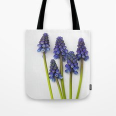 Muscari - Blue Grape - JUSTART © Tote Bag
