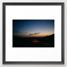 The Road Home - Tracy, CA Framed Art Print
