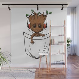 Pocket Tree Wall Mural