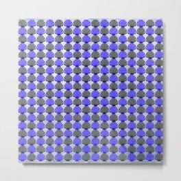Shells Pattern Metal Print