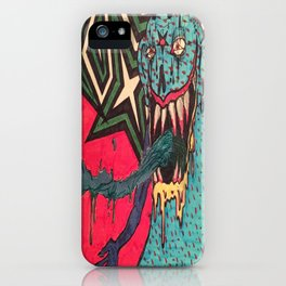 DEMON GOD 'FREAK ANY HO' iPhone Case