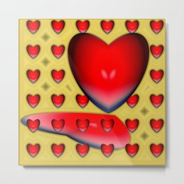 From the bottom of hearts ... Metal Print