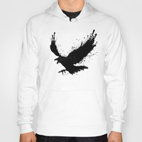 raven Hoodies featuring Raven by Nicklas Gustafsson