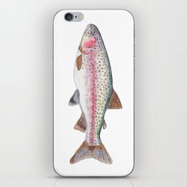 Rory the Rainbow Trout iPhone Skin