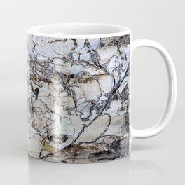 Natural Distressed Beach Drift Wood Textures Coffee Mug