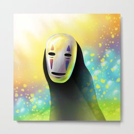 Faceless Metal Print
