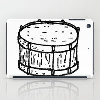 drum iPad Cases featuring drum by Isaac Collmer
