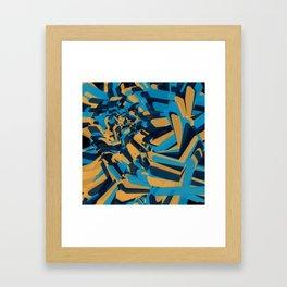 Xes Framed Art Print