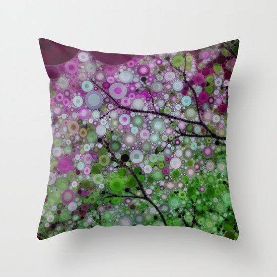 Positive Energy 3 Throw Pillow