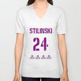 Stiles Stilinski Shirt Dylan O'Brien Shirts Women two sides Ringer Tee T-Shirt Unisex V-Neck