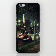 Paris Night III iPhone & iPod Skin