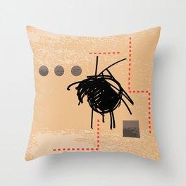 Creative Anxiety Throw Pillow
