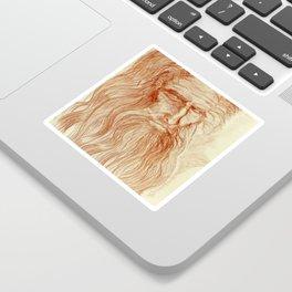 Like Leo by J. Baron Sticker