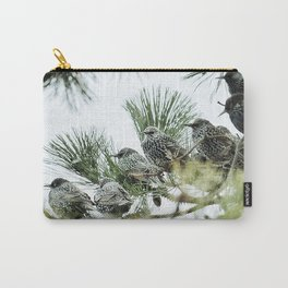 birds in the bush Carry-All Pouch