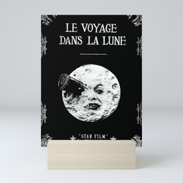A Trip To The Moon Georges Méliès Mini Art Print