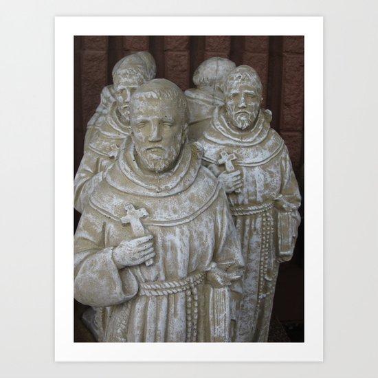 Saint Francis In Abundance Art Print
