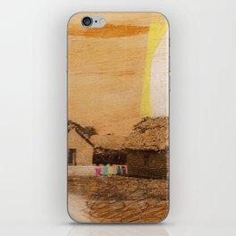 """""""each village"""" iPhone Skin"""