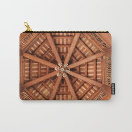 Wooden Sruckture Carry-All Pouch