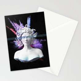 Medusa color blast  Stationery Cards
