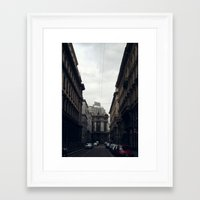 milan Framed Art Prints featuring Milan by BMaw