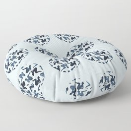 The momentary and The Permanent: two Floor Pillow