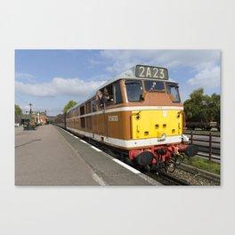 Diesel loco 5830 Canvas Print