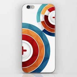 Geometric Modern Digital Abstracr iPhone Skin