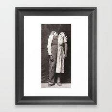 The Relationship Framed Art Print