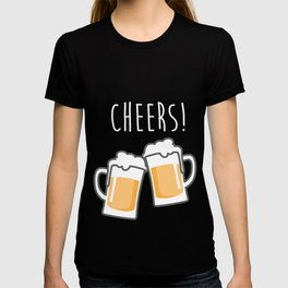 Cheers for peers with beer - Enjoy beer day with your friends T-shirt