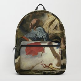 Liberty Leading the People (High Resolution) Backpack