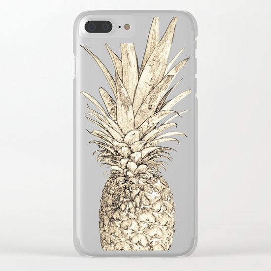 I thought its not real Clear iPhone Case