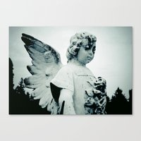 outdoor Canvas Prints featuring Outdoor angel by Vorona Photography