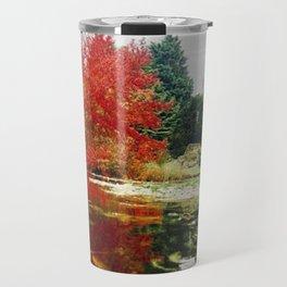 Autumn in the  park Travel Mug