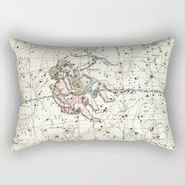 Gemini Constellation Celestial Atlas Plate 15 - Alexander Jamieson Rectangular Pillow