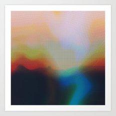Glitch 07 Art Print