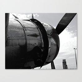 DC3 Engine Cowling Canvas Print
