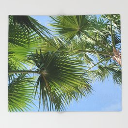 Vegas Palms I Throw Blanket