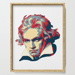 Beethoven Pop Art Serving Tray
