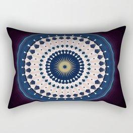 Sailor Wheel Mandala Rectangular Pillow