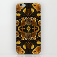 monty python iPhone & iPod Skins featuring Ball Python by Moody Muse