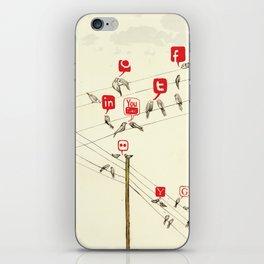 Bird Society iPhone Skin