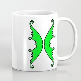 Fairy Wings Green Coffee Mug