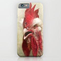 Portrait of a chicken Slim Case iPhone 6s