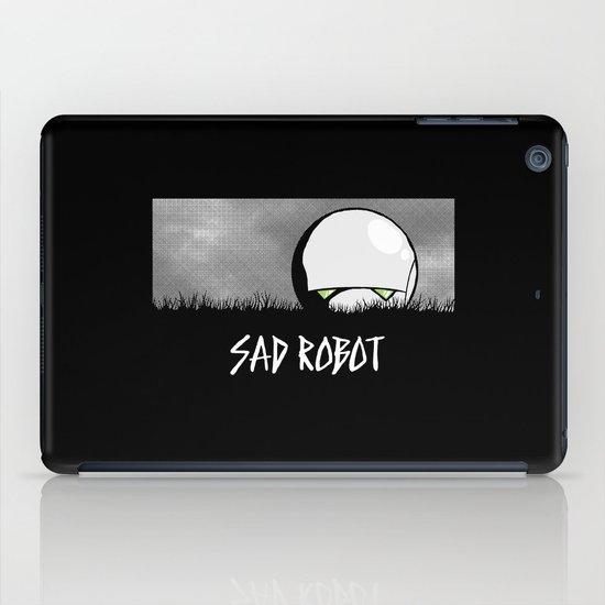 Sad Robot iPad Case