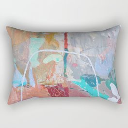In And Out Of Season Abstract  Rectangular Pillow